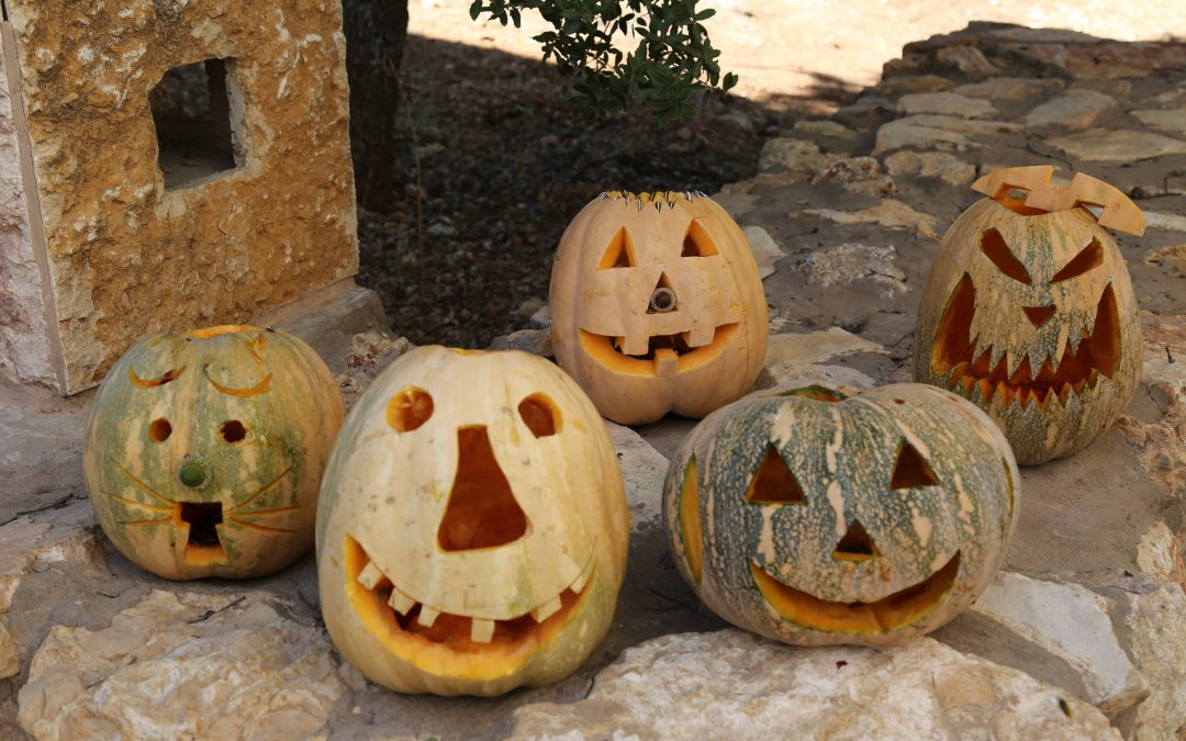 Decorated Pumpkins at Al Ma'wa